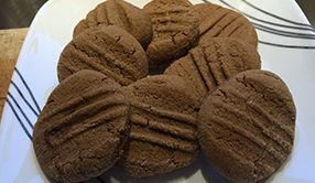Snack Time Molasses Cookies